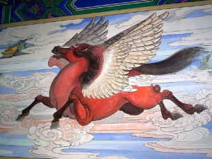 Chinese pegasus