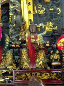 Jiu Tian Xuan Nu di Fuan Temple in Singapore