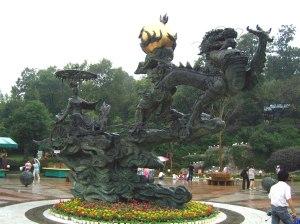 Xihe as Charioteer, Hangzhou