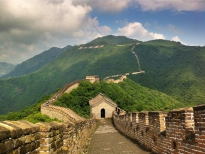 Great Wall near Lanzhou, Credit: Avi Nahum.