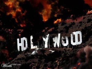 """Aggression towards Hollywood"""