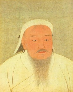 Chinggis Khan Portrait, 14th Century