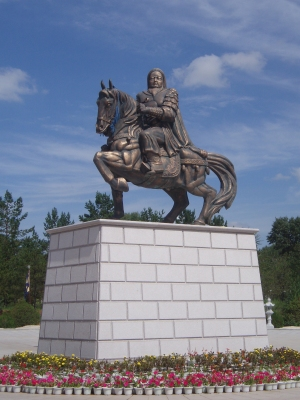 Chinggis Khan Statue, at his Mausoleum.