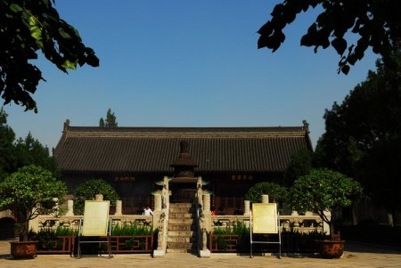 Temple of the Eight Immortals, Xian.