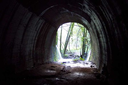 Inside the Wrights tunnel, North end. Credit: Vaughn Aubuchon.