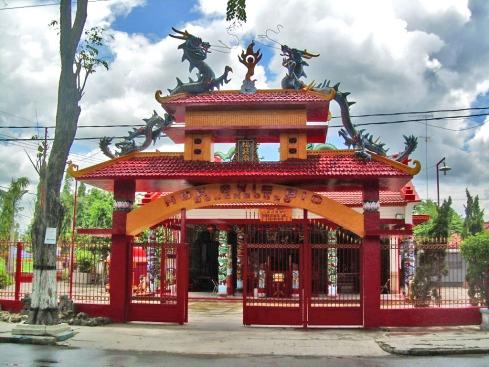 Hok Shwie Bio Confucian Temple, East Java, Indonesia