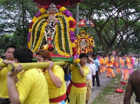 Moving of Jiutiaoqiao Nadugong Temple, Singapore