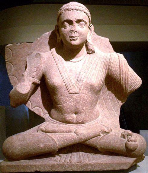 Maitreya, work of Mathura, 2nd Century CE. Public domain.