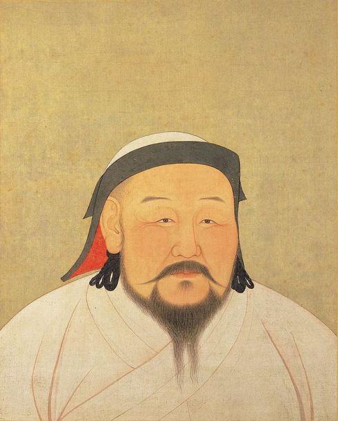 Khubilai Khan. Public domain.