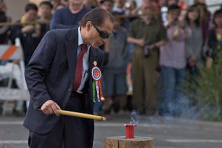 Firing of the Bombs. Credit: Bok Kai Temple.