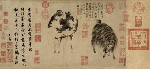 Painting by Zhao Mengfu. Public domain.