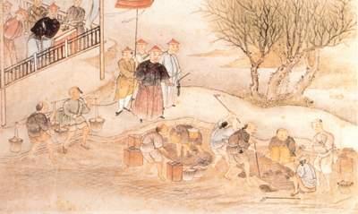 Destruction of opium. Credit: Public Domain.