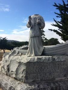 Statue of Junipero Serra, Presidio of Monterey, CA. Credit: Kevin Dayton.