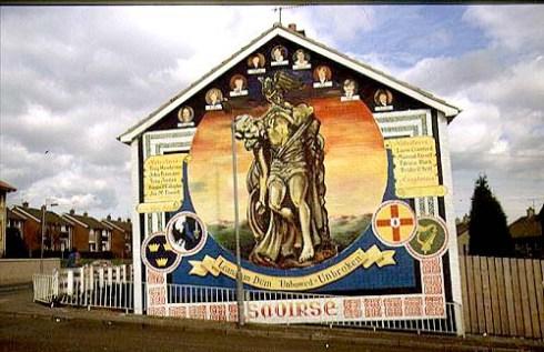 Cú Chulainn IRA Mural